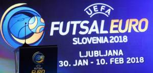 Ljubljana will host the UEFA futsal EURO 2018
