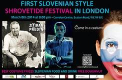 8th March - A Slovenian Carnival Comes to London!