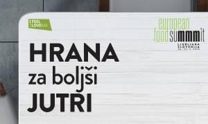 Evropski simpozij hrane – HRANA za boljši JUTRI