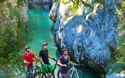 Езда на велосипеде вдоль Юлийских Альп
