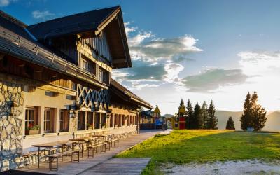 Oddih v objemu narave v Alpski perli