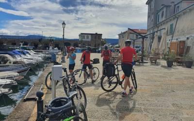 Kolesarsko uživanje na Parenzani