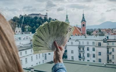 Shopping v Ljubljani (100 € bonov Desetak)