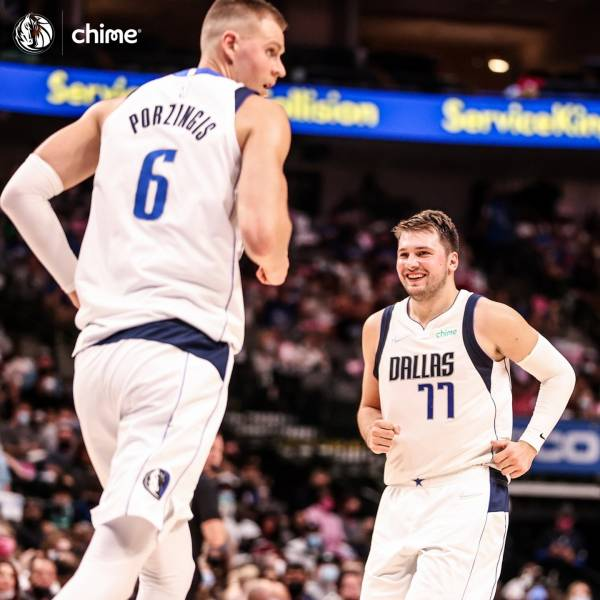 Looking forward to another magic season of Dallas Mavericks, with many Luka Magic @lukadoncic signature shots!   You rock, #Slovenia is proud of you!   There will be lots of sleepless nights for Slovenian Fans. But we've got sth for you!   Take part in the quiz about Luka Dončić to win an autographed jersey!  ▶Enter the quiz in the BIO link.   #NBA #MFFL  #ifeelsLOVEnia   Photo by @dallasmavericks