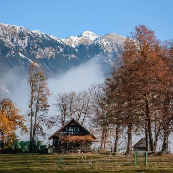 Fall brings the nicest views.  Blejska Dobrava   #ifeelsLOVEnia #mojaslovenija #sloveniaoutdoor #staysafe   Photo by @anaklepicphotography.