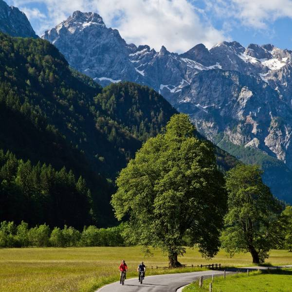 QUIZ: Why Slovenia is a super cycling power? Test your knowledge and see for yourself that Slovenia truly is one of the hottest cycling destinations and superpowers.  Enter to win practical sports prizes!  Click on the BIO link and start your quiz now, available in Slovene and English language.   #ifeelsLOVEnia #mojaslovenija #sloveniaoutdoor #tourofslovenia  Photo by @jostgantar, www.slovenia.info