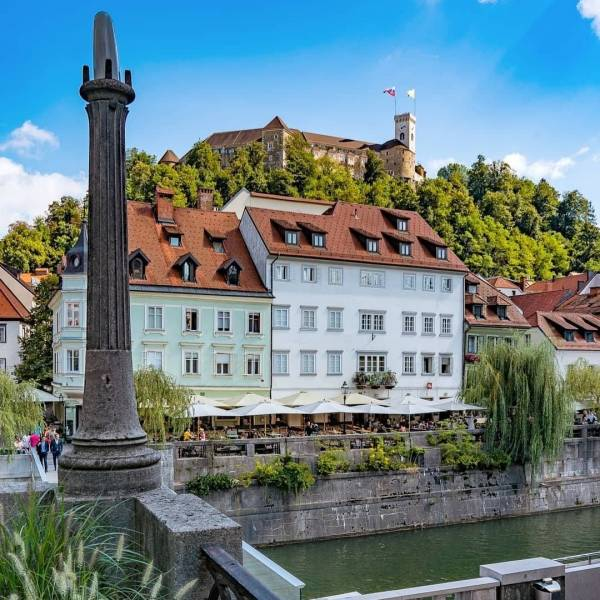 The mighty Ljubljana Castle looking over the city.  This medieval fortress is one of the symbols of Ljubljana and you should definitely pay it a visit.  Explore it on a private tour where your personal castle assistant will guide you through the castle's history and reveal some of its hidden corners to you.  Thank you @zalapke for sharing your photo with #ifeelsLOVEnia and #myway.  #slovenia #slowenien #ljubljana #lubiana #visitljubljana #map_of_europe #theprettycities #travelanddestinations #ig_europa #eurotravel #roamtheworld #letsflyawayto  #igpassport  #europe_greatshots #hellofrom #instatravellers #borntotravel #travelcaptures #bbc_travel #citiesoftheworld #suitcasetravels #visualwanderlust #cbviews  #tasteintravel #passportcollective #keeptraveling #tourtheplanet #thedreamytravels