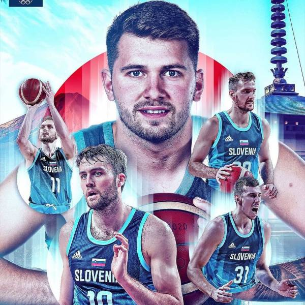 In this yersey, it just means more  Slovenia's basketball team will play France in the semi-finals at the Olympic Games at 1pm CET.   Enjoy the match today! @lukadoncic @kzs_si @sloveniaolympicteam  @fiba   #ifeelslovenia #mojtim #imamoto #imamotokio   Photo by @fiba.