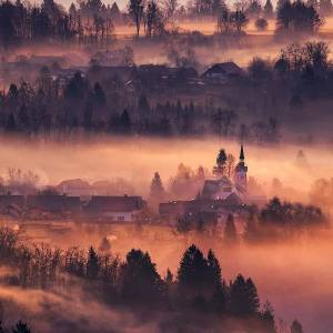 Can you imagine this incredible scenery would be your morning view? ...morning mists at Ribno, a lovely settlement near Bled. ️ #ifeelsLOVEnia #myway  Photo by @jostgantar.  #slovenia #slowenien #bled #lakebled #beautifuldestinations #best_worldplaces #topeuropephoto #living_destinations #bestplacestogo #perfect_worldplaces #bbc_travel #europefocus #travelworld_addiction #europe_ig #amazingdestination #travelforlife #travelcaptures #discover_europe #europe_greatshots #alluring_villages #theprettycities #map_of_europe #mydomainetravels #hello_worldpics #theculturetrip #athomeintheworld #thewanderingtourist #wanderlife
