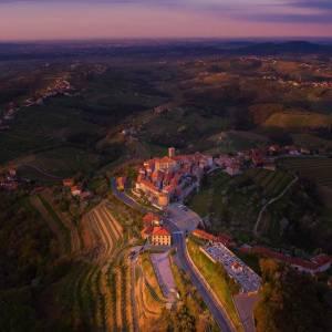 Goriška Brda - a region of invigorating moments!  Romantic villages, vineyards, olive groves and orchands.   #ifeelsLOVEnia #mojaslovenija #staysafe #sloveniaoutdoor #naturallycurious     Photo by @jurij_pelc.