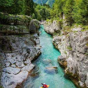 My way of going with the flow.⠀ Are you up for some adrenaline? Make your holiday even more exciting by experiencing a refreshing and daring fun on the wild waters of Slovenian rivers.⠀ ⠀ If you are up for the challenge, follow the link in bio and find out more about rafting, kayaking or canoeing in waters of Slovenian rivers.⠀ ⠀ Photo by @domagojsever via @croatiannomads.⠀ What is your way of exploring Slovenia? show us by tagging your photos with #ifeelsLOVEnia and #myway.⠀ ⠀ ⠀ ⠀ #slovenia #slowenien #isonzo #landscapelovers #special_shots #nature_wizards #earth_deluxe #globeshotz #exceptional_pictures #landscapephotography #fantastic_earth #ig_shotz #landscape_lover #nature_brilliance #nature_shooters #ourplanetdaily #instatravel #travelgram #wanderlust #instapassport #travelingram #diewocheaufinstagram #earthofficial #europe_vacations #ForbesTravelGuide #vacanze #urlaub #eden⠀