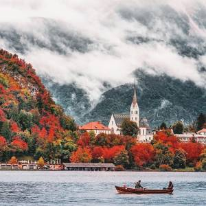 Bled Must see in the future; A treasure trove of unique and compelling experiences, as spotted by Lonely Planet, when the famous travel guide ranked Bled among its top ten must-see destinations.  #ifeelsLOVEnia #mojaslovenija #bledslovenia #lakebled   Photo by @hebenj.