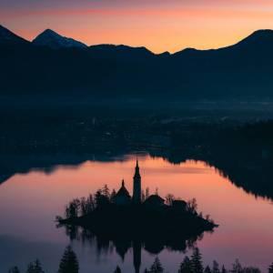 Serenity at Bled. 
