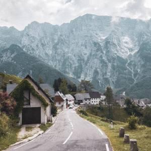 Put Soča Valley on your bucket list.  Once you will enjoy this fairytale view in  Strmec na Predelu.   #ifeelsLOVEnia #mojaslovenija #staysafe #socavalley   Photo by @suziipal.  