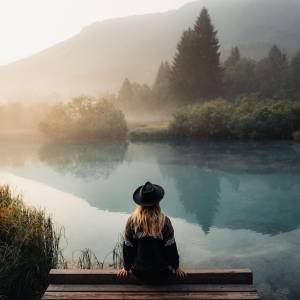 Close your eyes and embark on an imaginative journey to a green country.   #ifeelsLOVEnia #mojaslovenija #kranjskagora #sloveniaoutdoor  Photo by @robinxbenjamin.