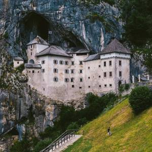 Another day, another Slovenian castle  Predjama Castle  . What a beauty.  Find more about it in the BIO.  #ifeelsLOVEnia #traveltomorrow  Photo by @andy_tosh.