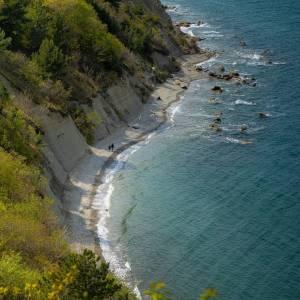 Good Day!   from one of the most wonderful corners of Slovenia's coastline. Moon Bay  #ifeelsLOVEnia #mojaslovenija #staysafe #sloveniaoutdoor   Photo by @jurij_pelc.
