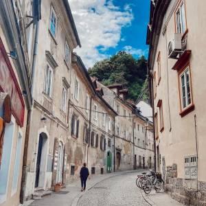 Ljubljana , you are charming over and over again!  Which street in Ljubljana is your favourite?   #ifeelsLOVEnia #mojaslovenija #visitljubljana #sloveniaculture   Photo by @lillanemeth.