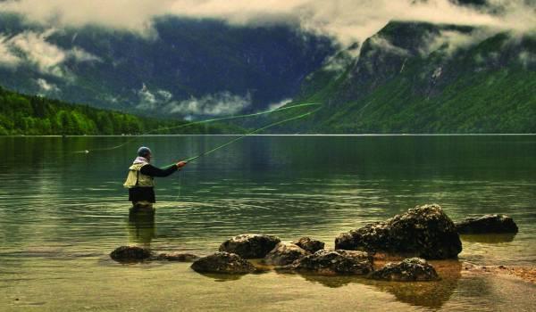 Fishing in Slovenia   I feel Slovenia