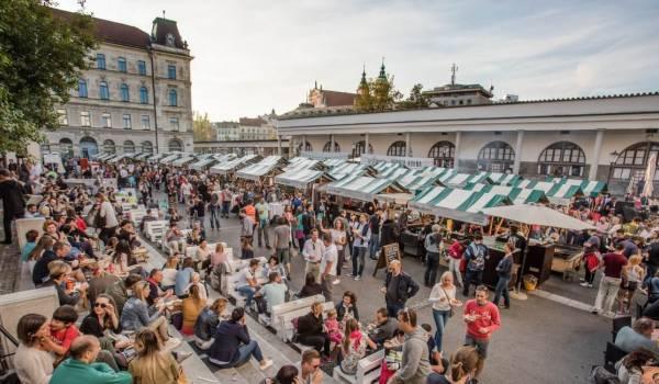 Hasil gambar untuk autumn festival in ljubljana