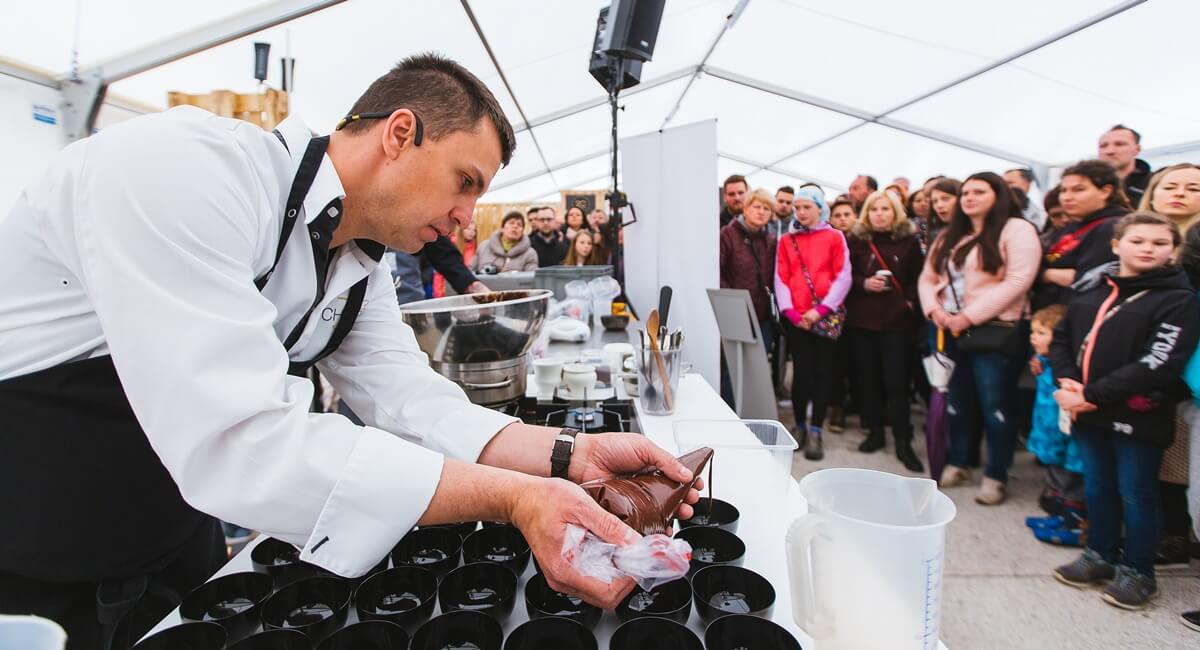 The Radovljica chocolate festival