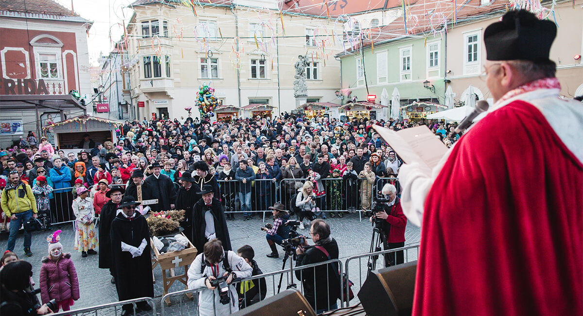 Shrove Tuesday and Burial of the Carnival (Ptuj)