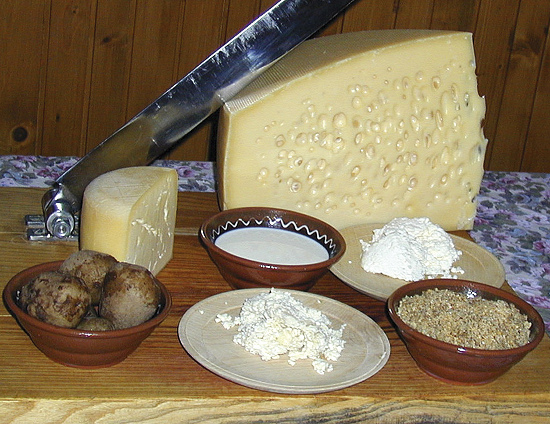 Cheese and wine fest in Bohinj