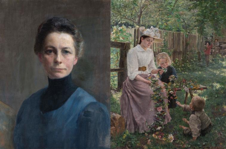 """Ivana Kobilca (1861–1926): """"Painting is something beautiful ..."""""""