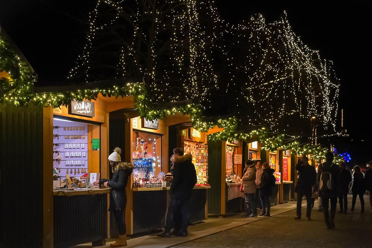 I mercatini natalizi di Lubiana