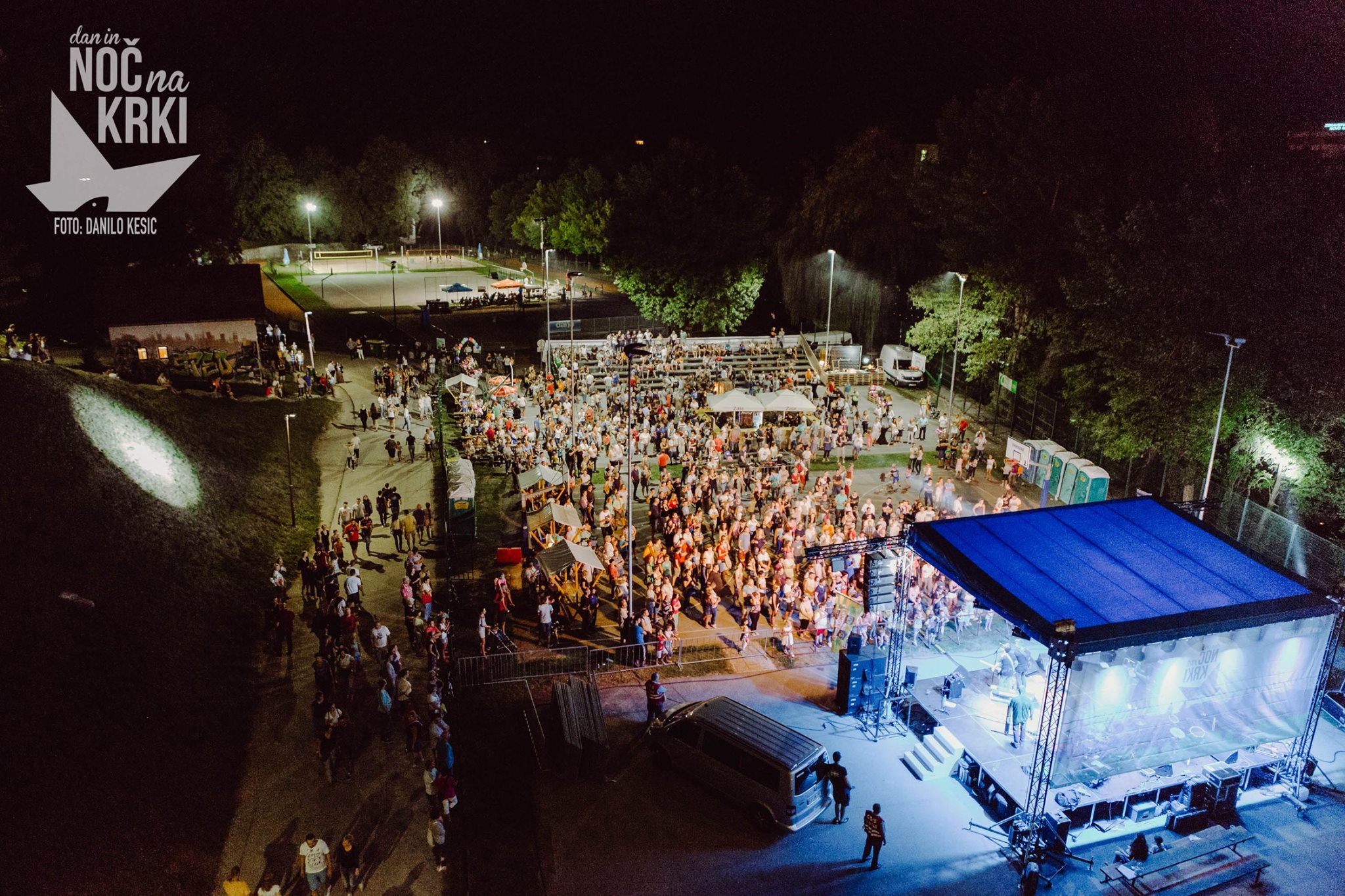 Night on the Krka river & Jumps to the Krka 2019