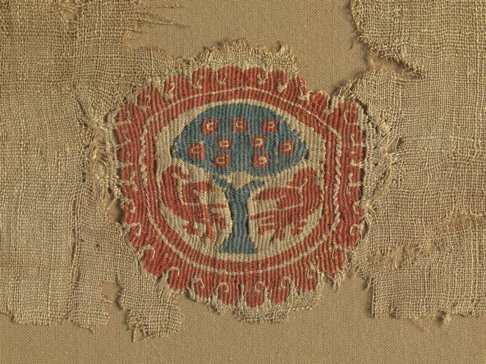 Koptske tkanine iz zbirke Narodnega muzeja Slovenije