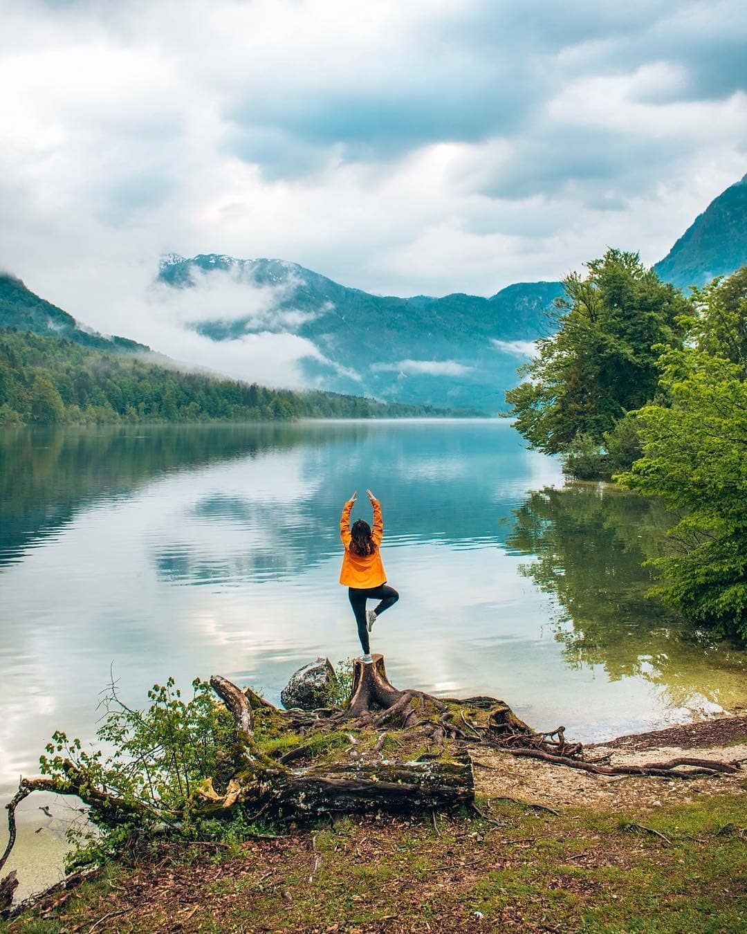 Balance in nature helps us keep balance in life.  Thanks the @thehopefulhitchhiker for sharing your photo with #ifeelsLOVEnia.