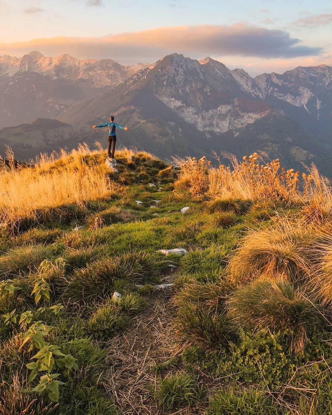 Welcome  welcome, dear Autumn  . May your traces be leading to the most amazing views!  This charming capture is from Kobilja Glava, a 1475m high mountain, eastern of Tolmin.  Where are you heading on the first day of Autumn?  Thanks @naceursic for sharing your photo with #ifeelsLOVEnia.