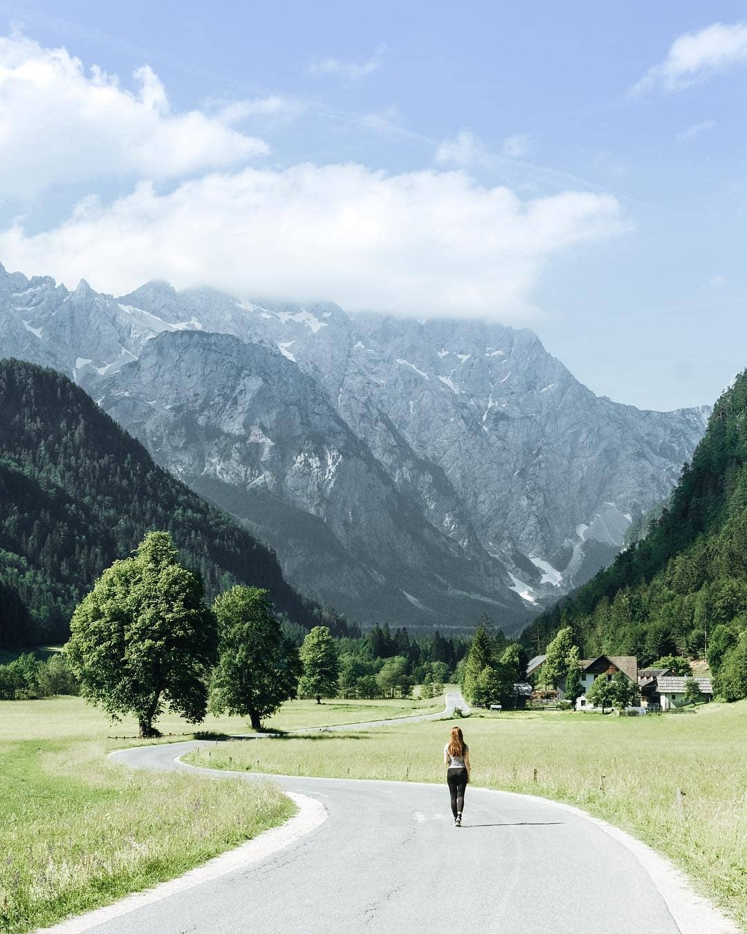 Logar Valley is a unique valley with breathtaking views of the mountains.  Thanks @ninapecovnik for sharing your photo with #ifeelsLOVEnia.