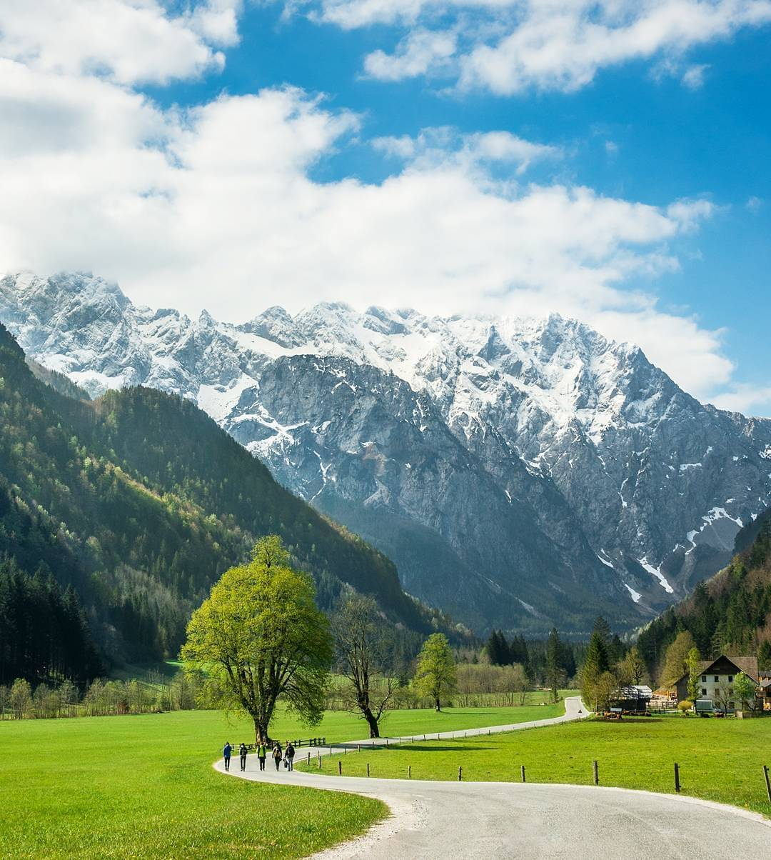 Logar Valley is said to be one of the most beautiful Alpine glacial valleys in Europe. What do you guys think about it?  Thanks @davidbizjak for sharing your photo with #ifeelsLOVEnia.