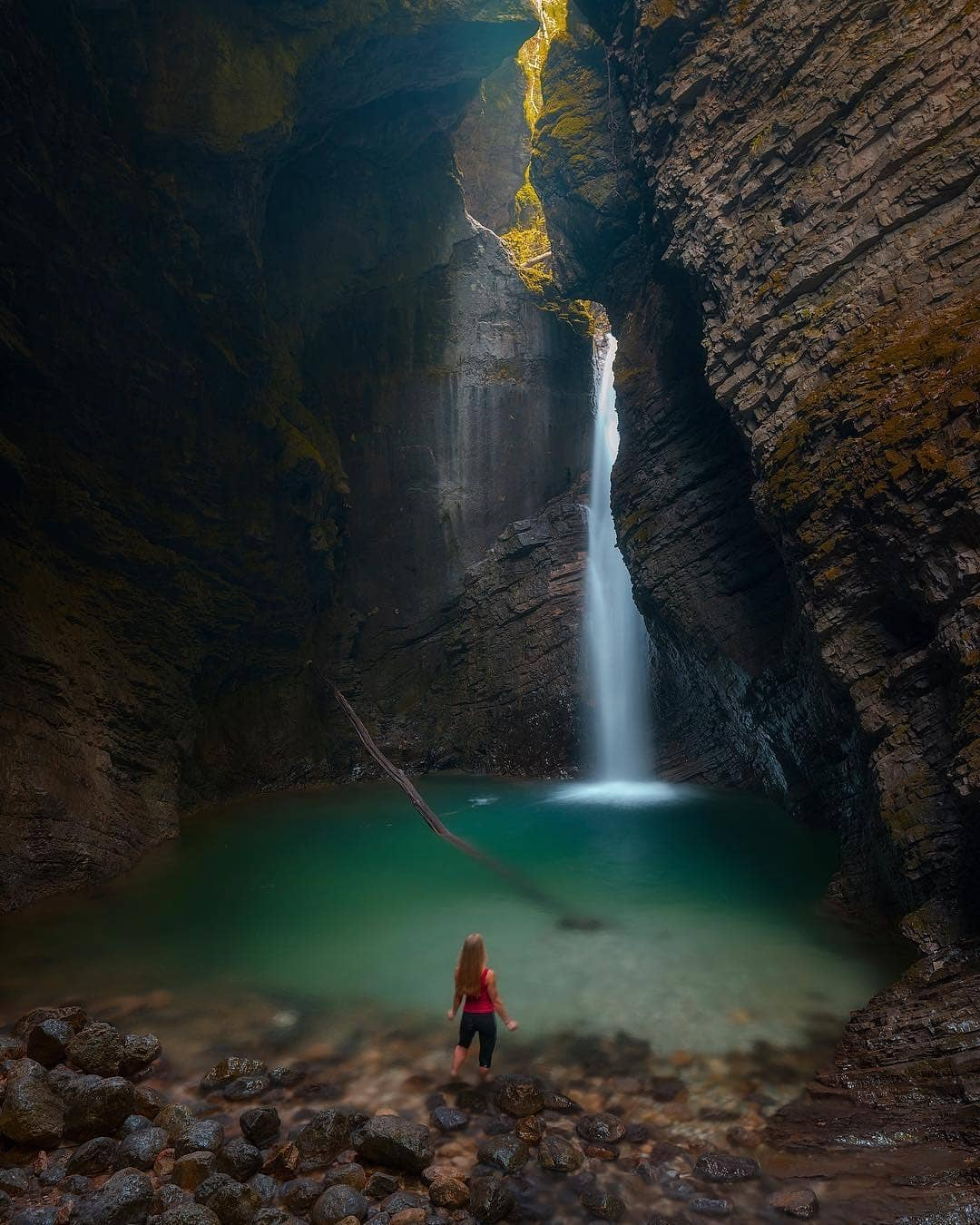 Kozjak Waterfall is a truly amazing and refreshing place for summer days.  What's your favourite spot when it gets really hot outside?️ Thanks @neilbennett3 for sharing your photo with #ifeelsLOVEnia.