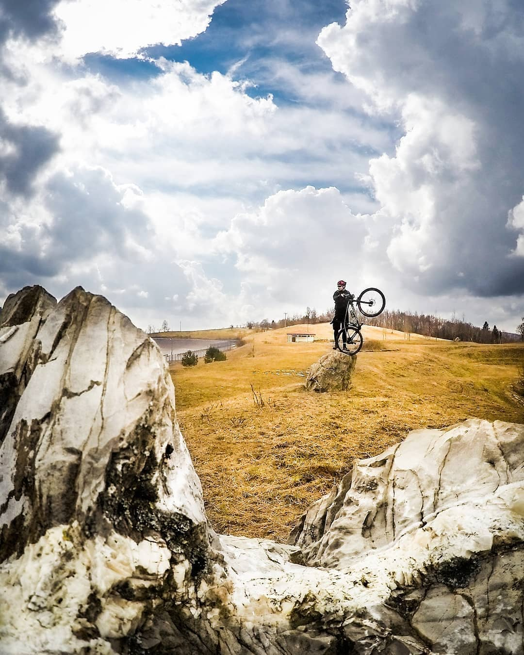 Warmer days are coming ... so, it's time to dust off your bike for new adventures.   Thanks @madonch for sharing your photo with #ifeelsLOVEnia.