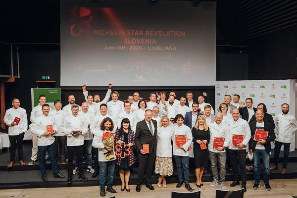 Michelin že prvo leto podelil zvezdice šestim slovenskim restavracijam, od tega dve zvezdici Hiši Franko, po eno pa kar petim restavracijam