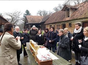 Predstavniki slovenskih EDEN destinacij obiskali letošnjo hrvaško zmagovalko EDEN: Gr. Međimurje