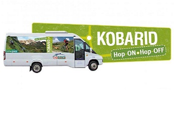 Julija in avgusta v občini Kobarid vozi Hop - On, Hop - Off avtobus