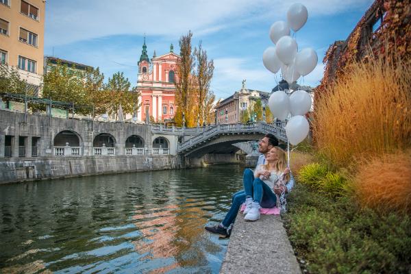 Ljubljana on Insider's list of honeymoon destinations
