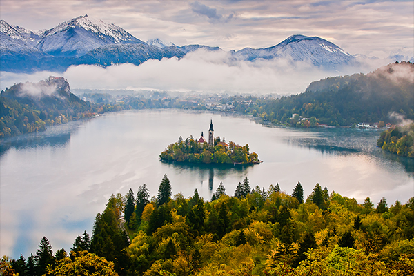 Condé Nast Traveller: the Best Places to Visit in Slovenia