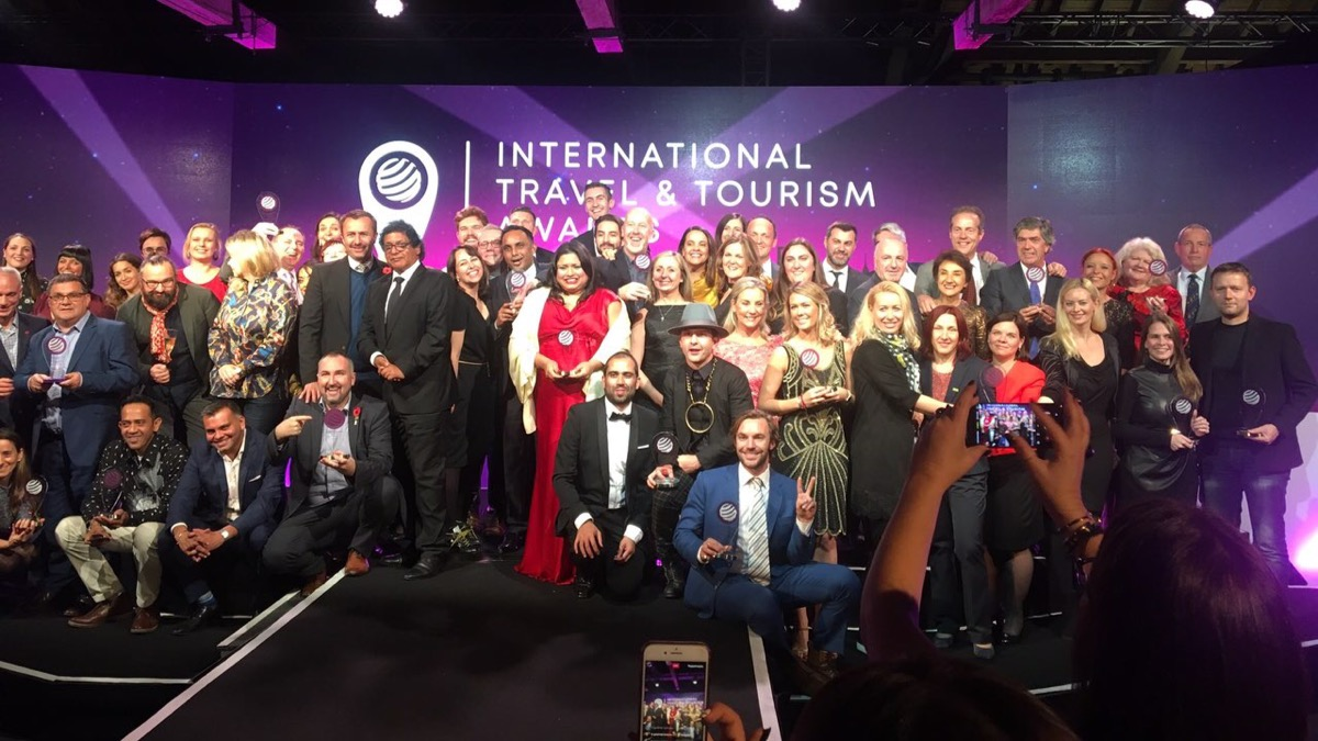 Resultado de imagen para International Travel & Tourism Awards 2018