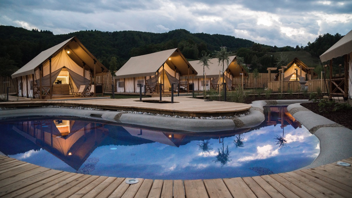 Slovenia Eco Resort and Glamping Olimia Adria Village among top 7 ...