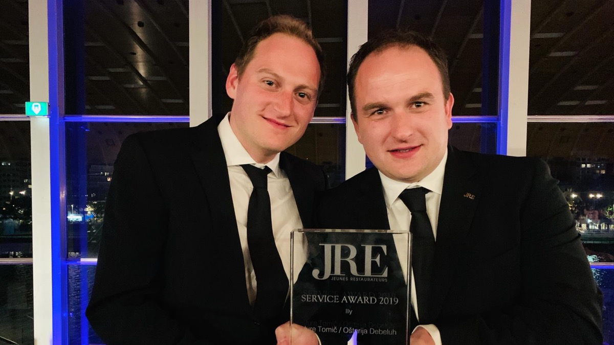 Slovenian chef Jure Tomič receives renowned JRE award