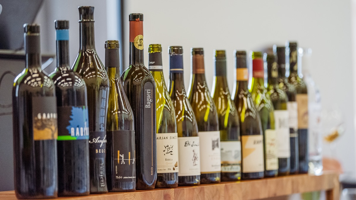 A number of excellent Slovenian winemakers participated in the event
