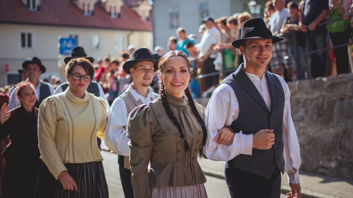 The 49th edition of The National Costumes and Clothing Heritage Days in Kamnik