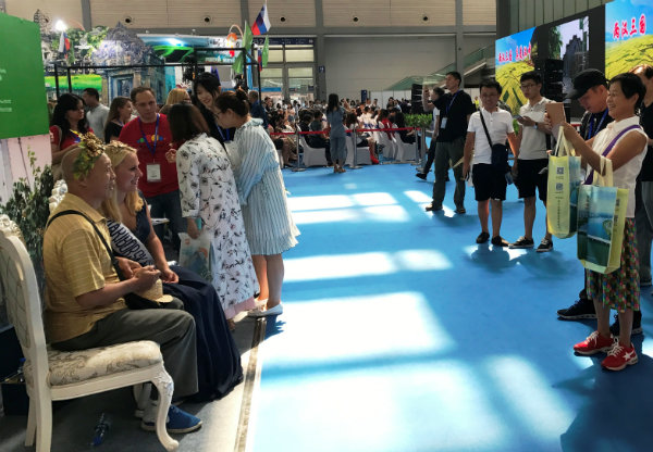 Slovenian promotional stand among the top 10 in China