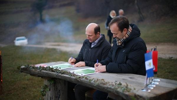 Podpis zelene politike v občinah Litija in Šmartno pri Litiji