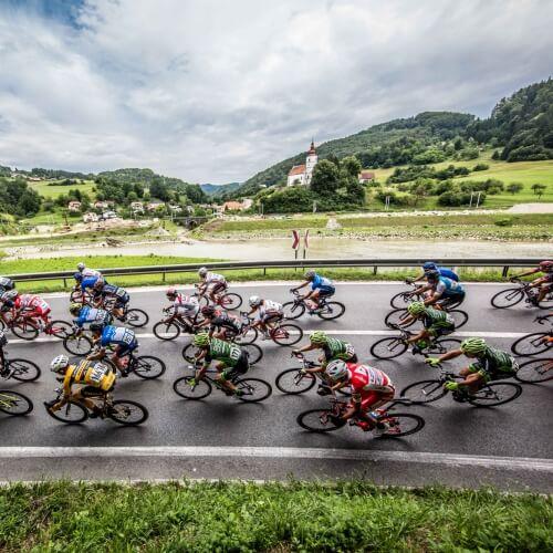 Spoznajte Slovenijo na način profesionalnih kolesarjev